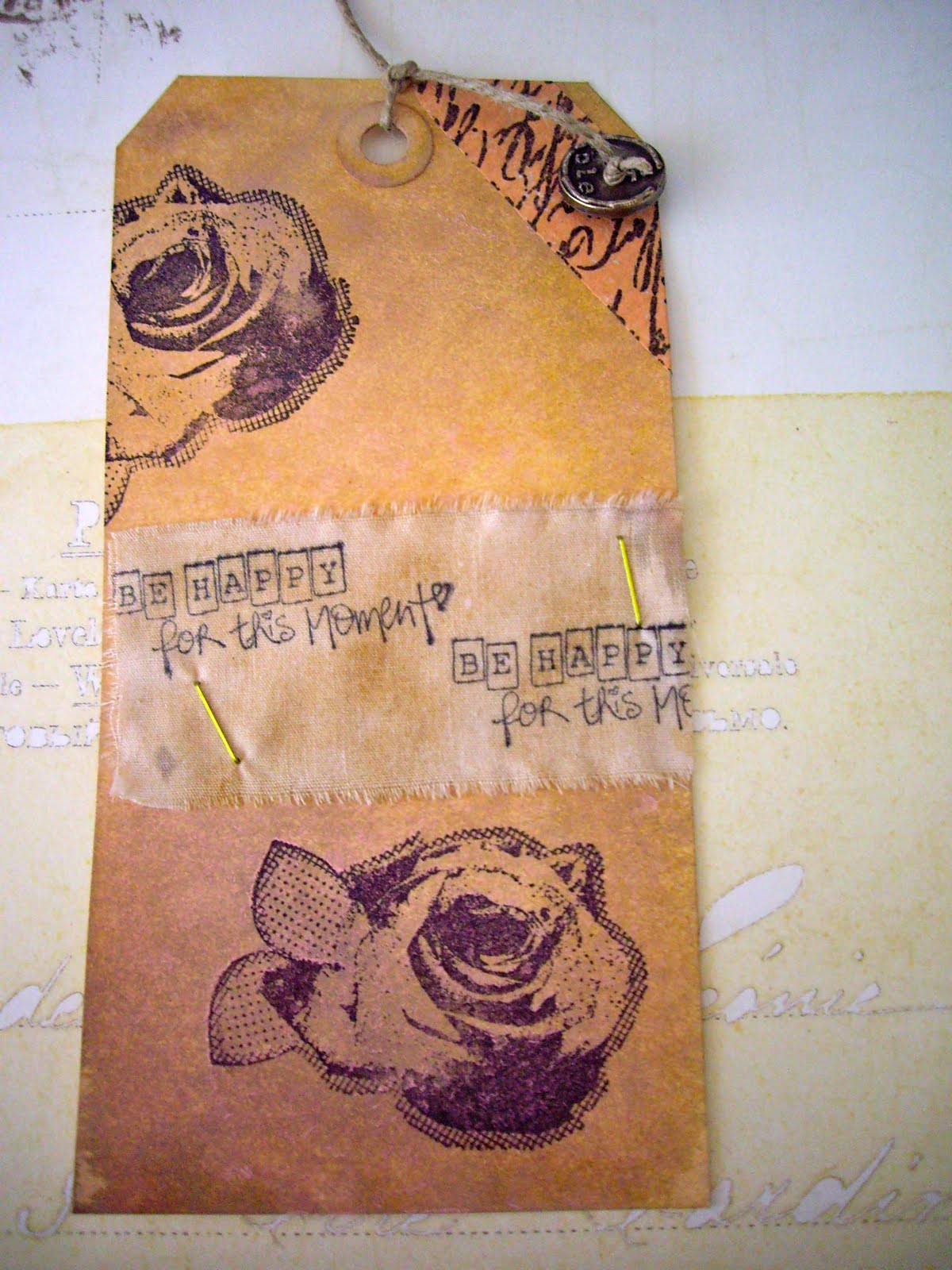 Mine Stamp Marcador De Ropa Y Libros Scrap And My Favourite Things Punto De Libro