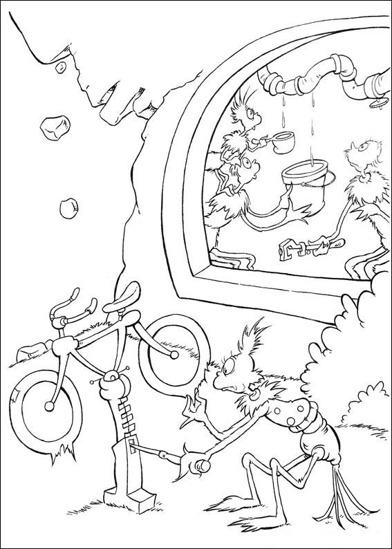 Fun Coloring Pages Horton Dr Seuss Coloring Pages