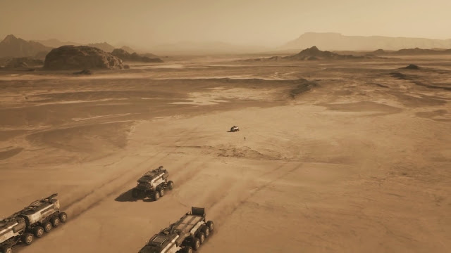 Exploration rovers - image from Season 2 of NatGeo MARS TV series