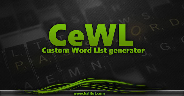 CeWL - Custom Word List generator