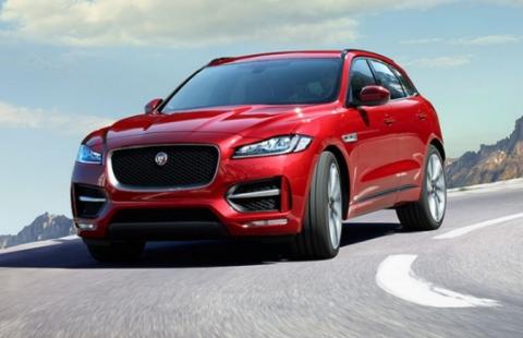 The 2017 Jaguar F-Pace Design