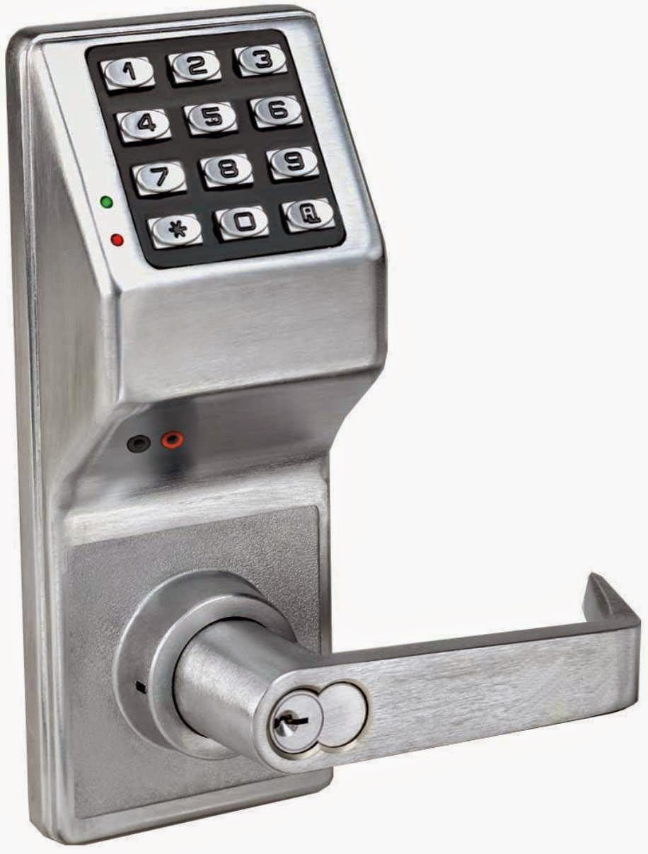 Digital Combination Lock Circuit With Keypad And Lcd 16f628 Door Timer Alarm