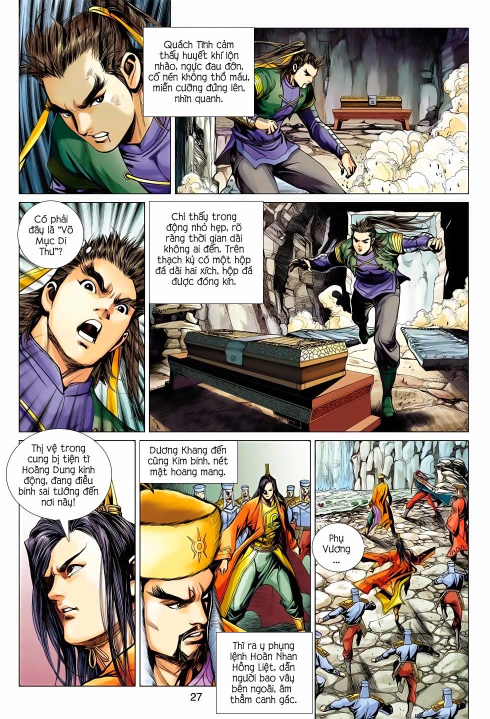 Anh Hùng Xạ Điêu anh hùng xạ đêu chap 56: tuyệt tình vô nghĩa lãnh huyết ác niệm trang 27