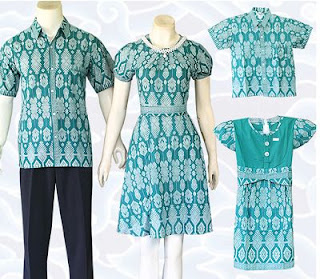 Contoh Model Batik Keluarga dan Anak