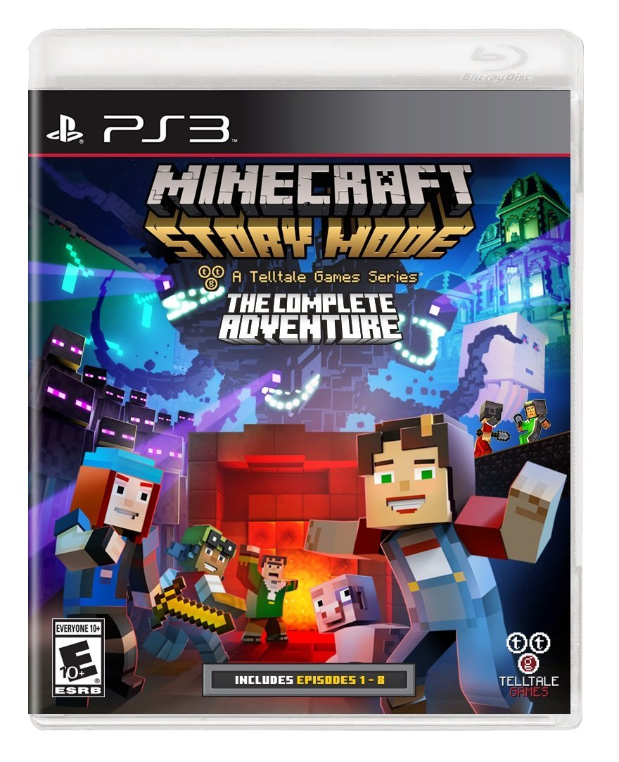 [GAMES] Minecraft Story Mode The Complete Adventure – CLANDESTiNE (PS3/USA)
