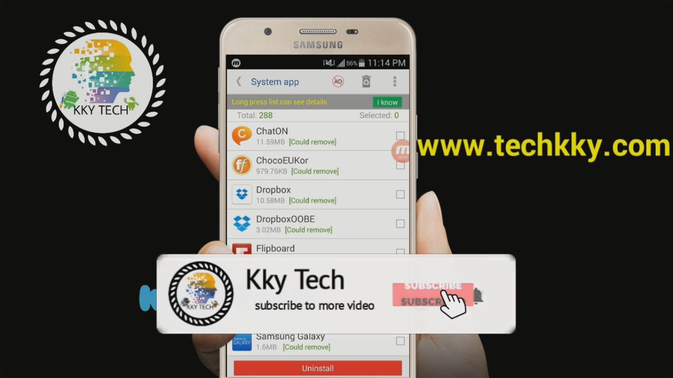 System app remover (root needed) new update 2019 - KKY Tech
