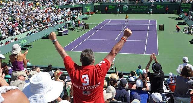 Jogos de tênis em Miami