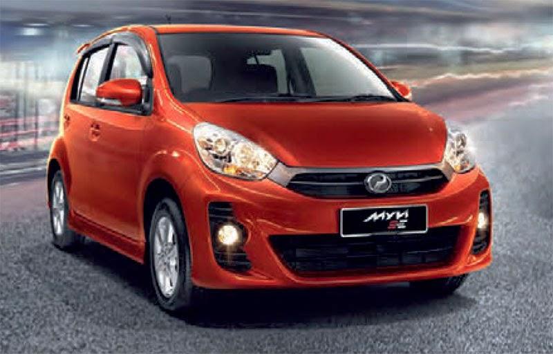 Perodua Alza Warna Hitam - Contoh Yulis