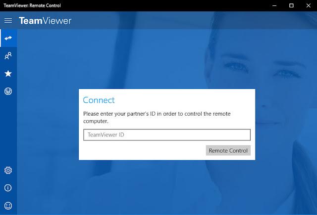 Teamviewer ứng dụng điều khiển máy tính từ xa
