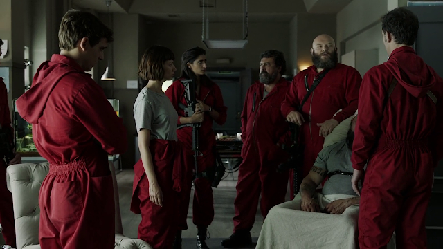 Money Heist Season 2 Dual Audio Hindi 720p HDRip