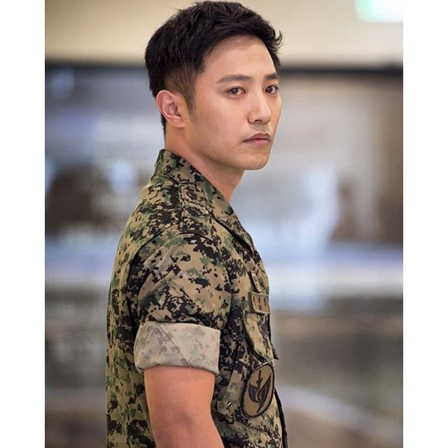 Jin Goo PEMERAN Kapten Seo Dae Young Di Drama Korea