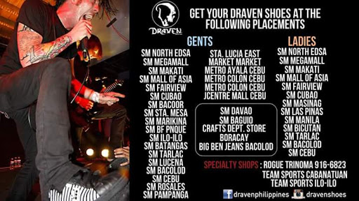 Official Draven stores, Philippines
