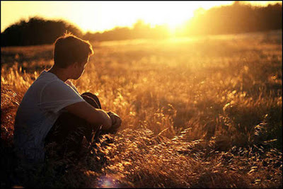 Lovely Broken heart alone boy profile pic for facebook