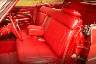 1973 Oldsmobile 98 Luxury Sedan Seat Front