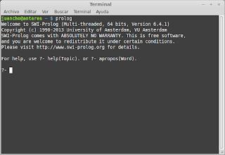 SWI-Prolog en Linux