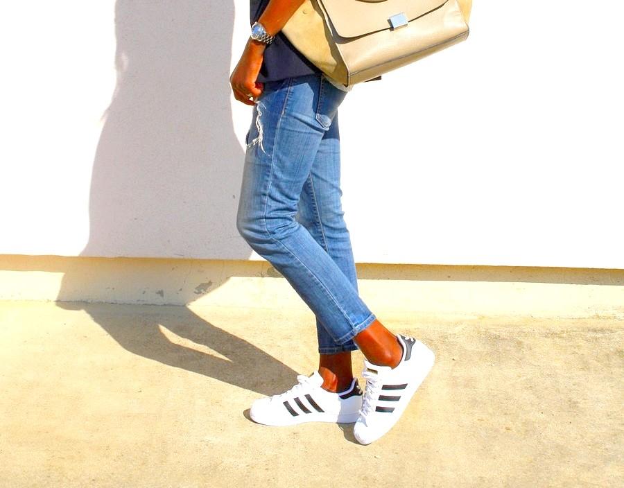 jeans-dechire-zara-baskets-adidas-superstar-sac-celine-trapeze-beige