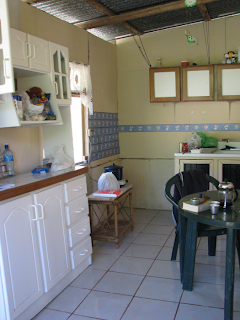 Kitchen in house for rent in Puriscal