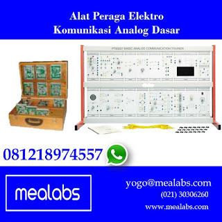 Alat Peraga Elektro Komunikasi Analog
