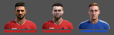 PES 2013 Albanian Players FACEPACK by Adi Gjuzi