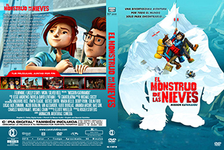 Mission Kathmandu - El Monstruo de las Nieves - Cover DVD