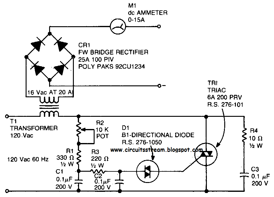 simple 12v battery charger circuit diagram simple 20a battery charger circuit car wiring schematic diagram on simple 12v battery charger circuit diagram