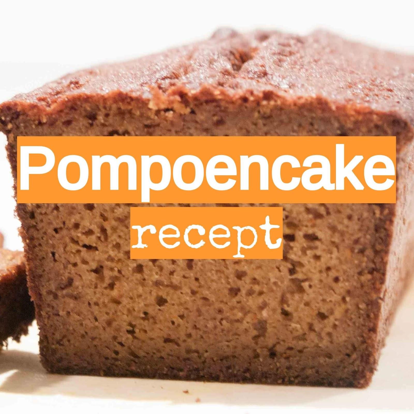 pompoencake recept pompoen herfst najaar moestuin