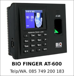 Distributor Bio Finger AT-600 Murah Asli