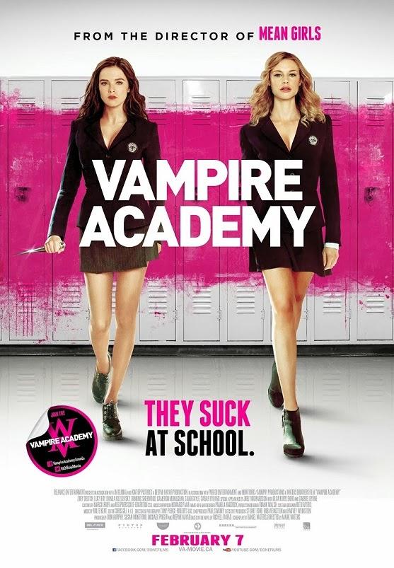 Vampire Academy (2014) BluRay 720p