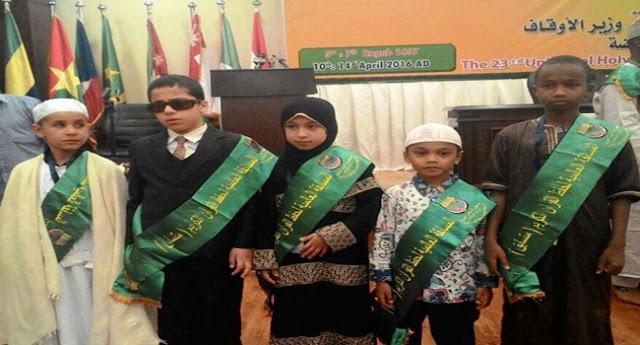 Musa Hafiz Cilik Indonesia Tingkat Dunia