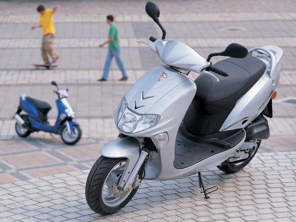 auto stark bikes kymco vitality 50 4t. Black Bedroom Furniture Sets. Home Design Ideas