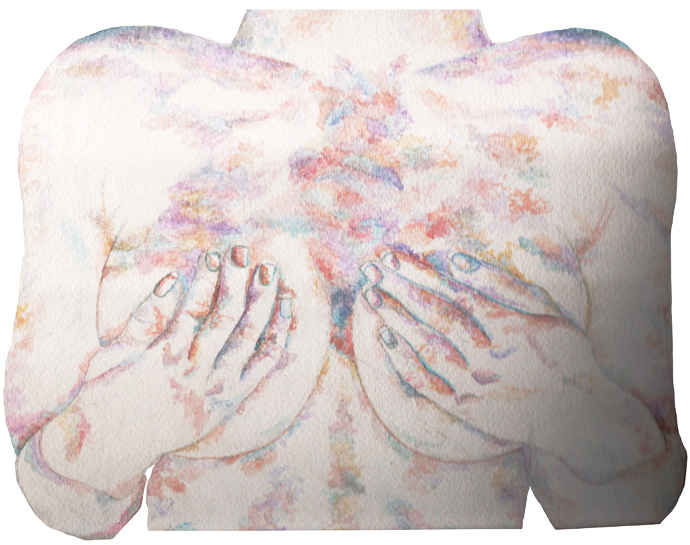 Watercolour Female Body