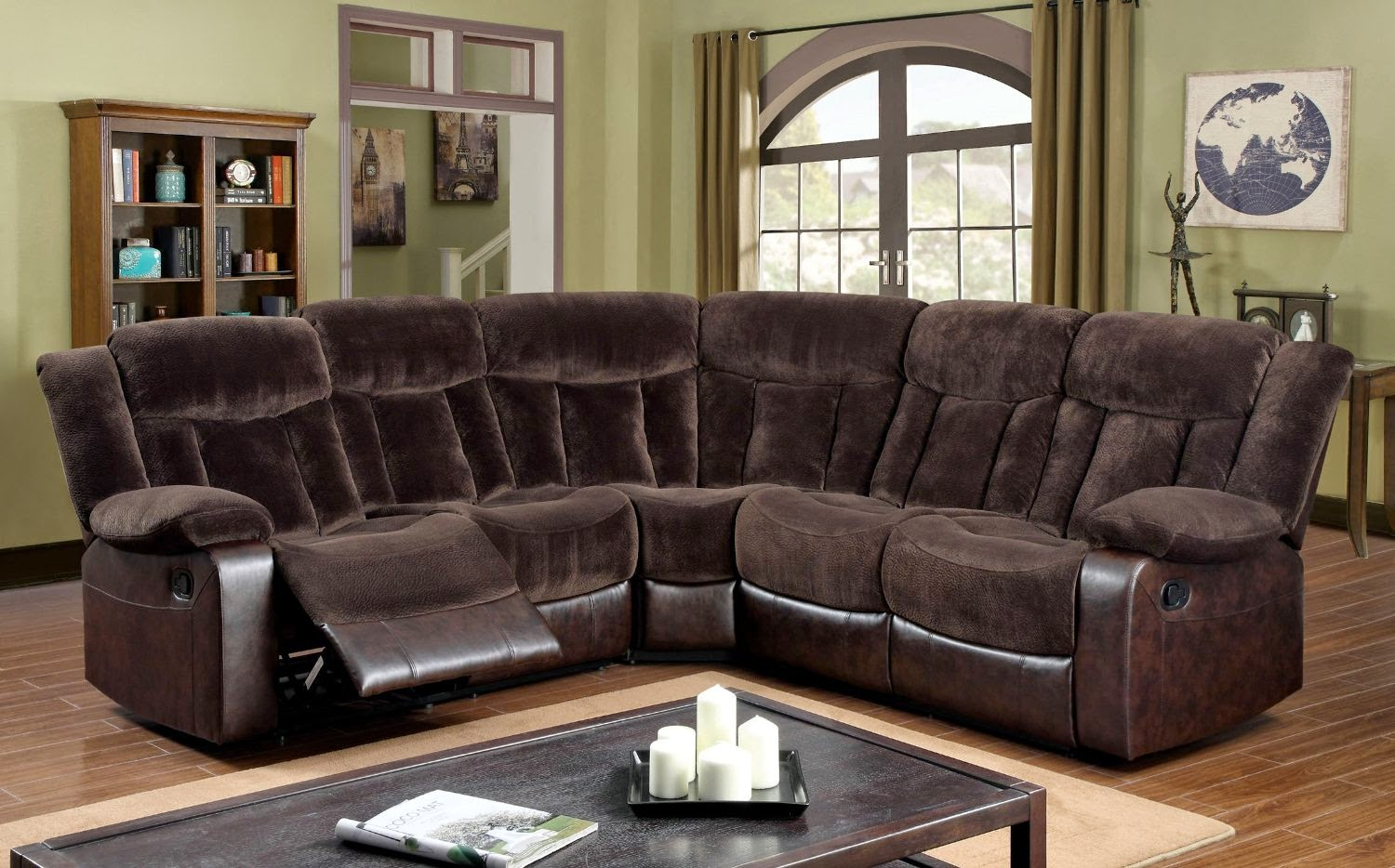 curved sofa furniture reviews curved leather sofa recliner. Black Bedroom Furniture Sets. Home Design Ideas