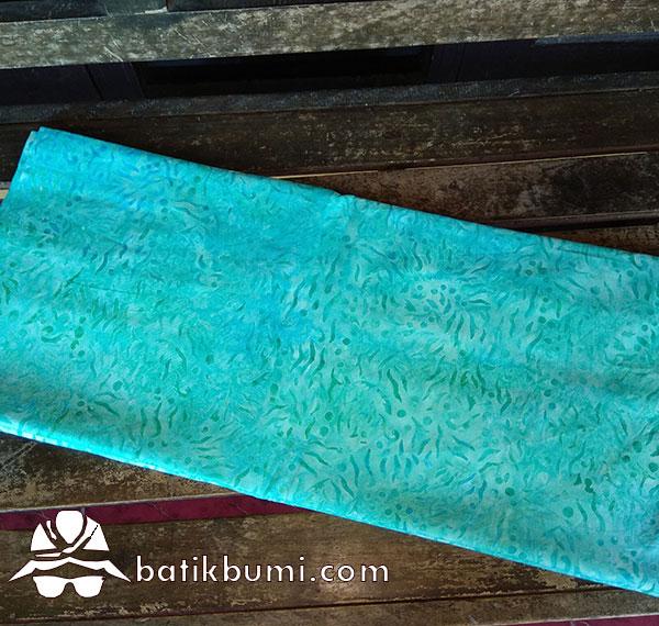 Batik Cap Smoke Motif Cendol Toska