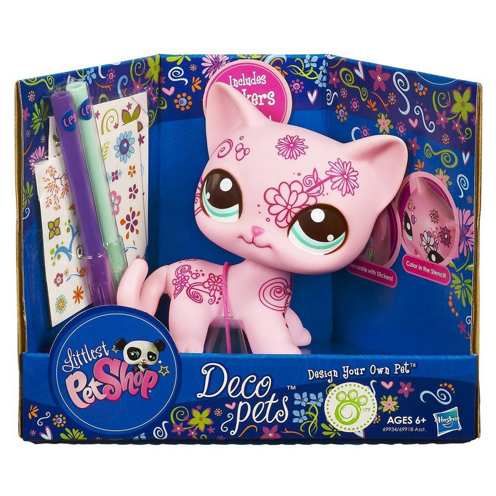Littlest Pet Shop Deco Pets Cat Shorthair No Pet