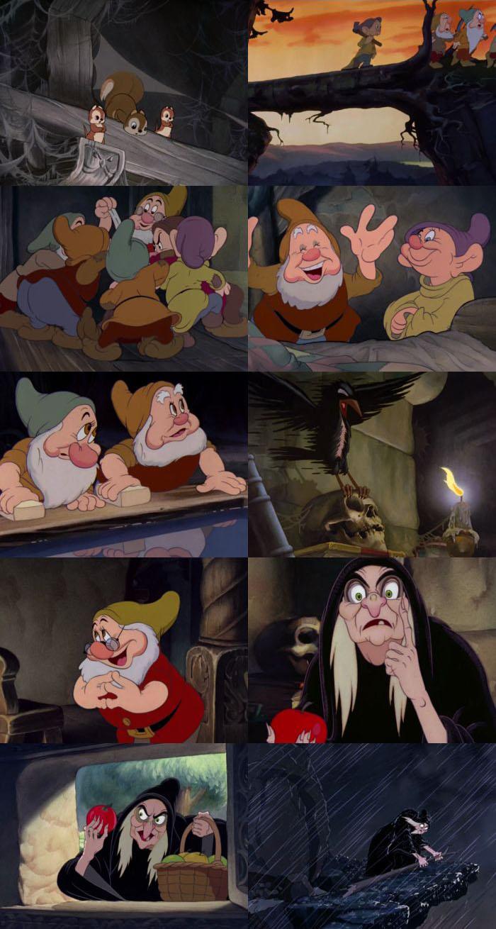 Snow White and the Seven Dwarfs 1937 Dual Audio
