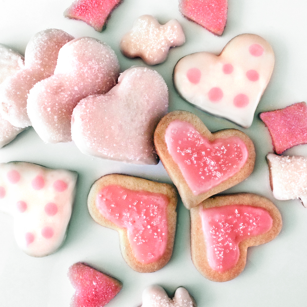 Make some frosted sugar cookies for your sweetheart.