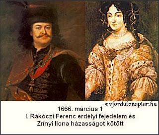 I. Rákóczi Ferenc - Zrínyi Ilona