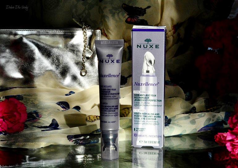 NUXE Nuxellence® Zone Regard - Krem przeciwzmarszczkowy pod oczy recenzja