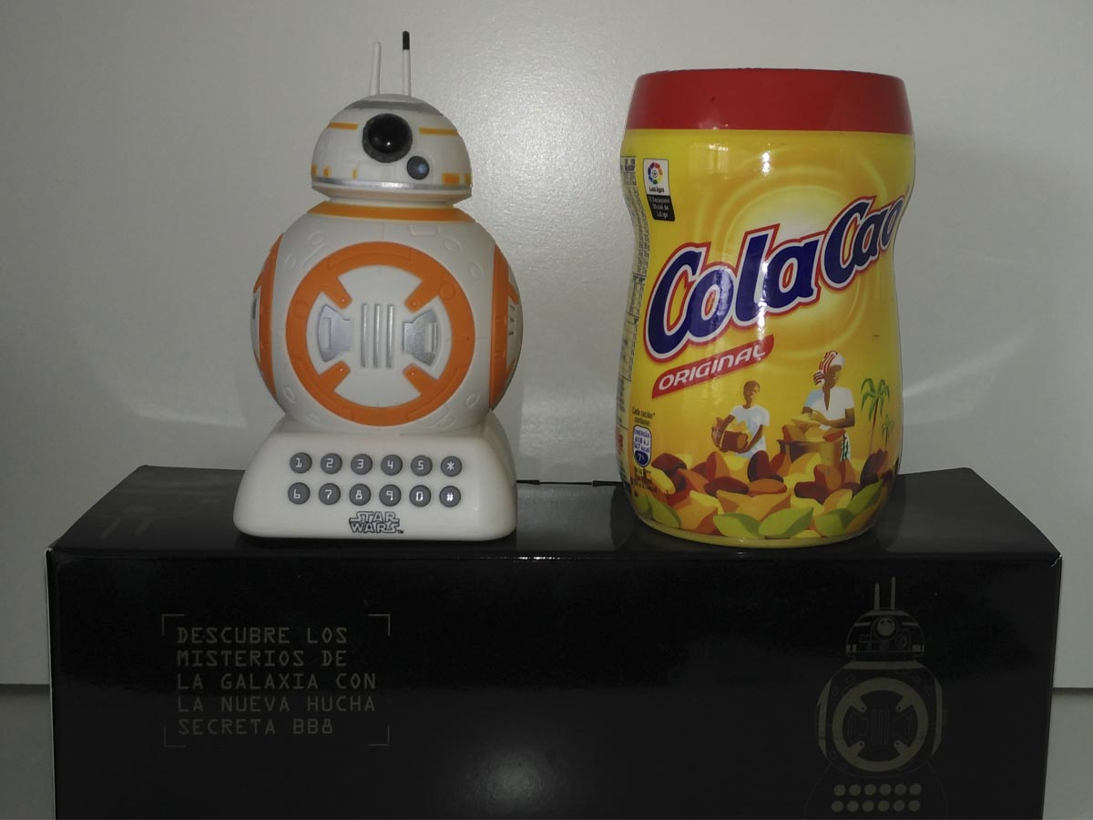 Hucha BB-8 Cola Cao