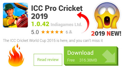 Icc Pro Cricket 2019 Mod Version Download For Android | With New Features & Good Graphics