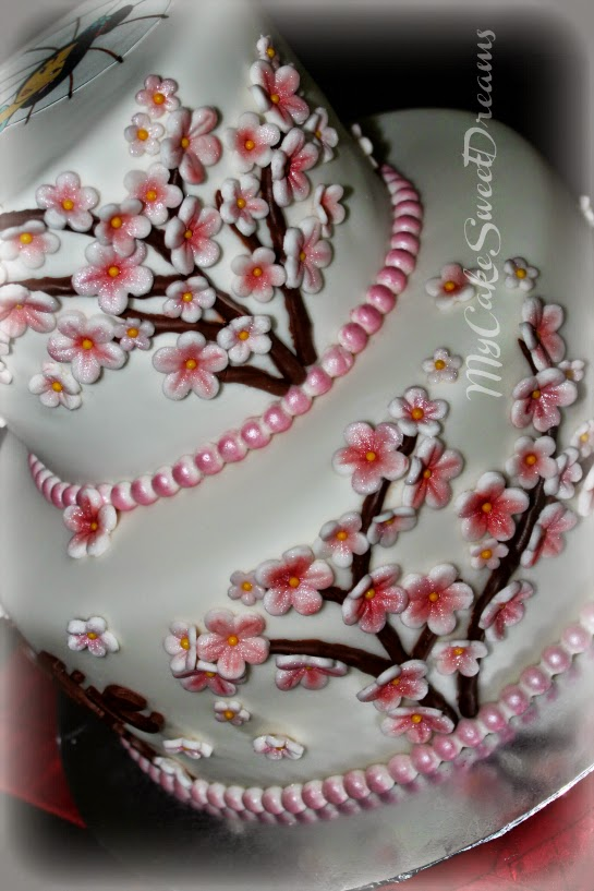My Cake Sweet Dreams Mulan Birthday Cake