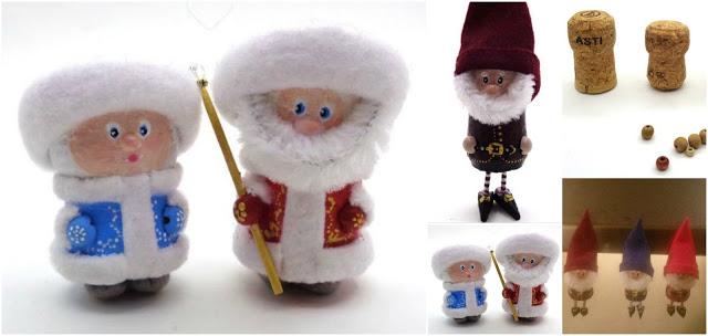 muñecos-navideños-reciclando