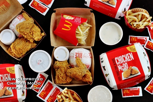 McDo PH New and Improved Chicken McDo and Anong Chicken Ni Joy TVC, Chicken McDo PH Blog Review Price Menu Branches Online Delivery YouTube Facebook Instagram Twitter YedyLicious Manila Food Blog