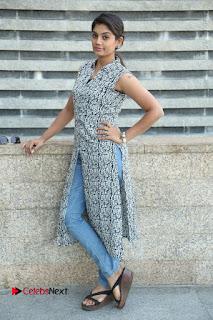 Telugu Television Actress Karuna Latest Pos In Denium Jeans  0111.JPG