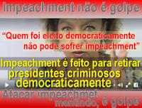 atriz da Globo defende PT mentindo que impeachment é golpe