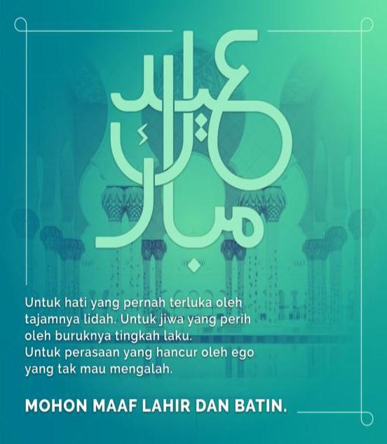 Daftar Desain kartu ucapan Selamat Lebaran & Idul Fitri - 4