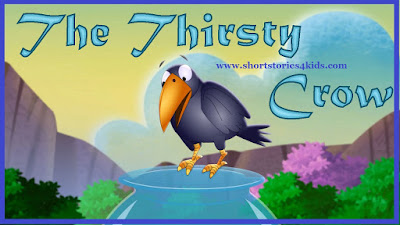 The Thirsty Crow Short story with picture and PDF