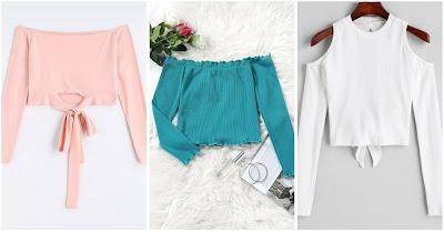 Loja Zaful, moda, estilo, estilo das gringas, roupas bonitas e baratas, looks tumblr