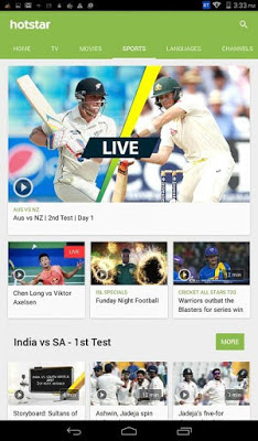 hotstar tv movies cricket download