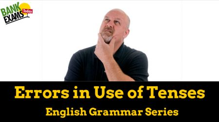 errors in the use of tenses